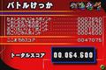 Gojira Kaiju Dairantou Advance - Points