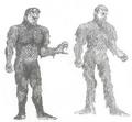 Concept Art - War of the Gargantuas - Sanda 1