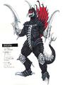 Concept Art - Godzilla Final Wars - Gigan 1