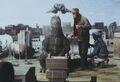 GVH - Godzilla Sitting On Set