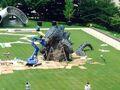 LegendaryGoji Statue In A Tokyo Park 5