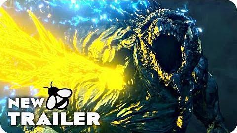 Godzilla The Planet Eater Trailer (2018) Godzilla Anime Movie