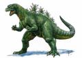 Concept Art - Godzilla vs. Destoroyah - Godzilla Junior 11