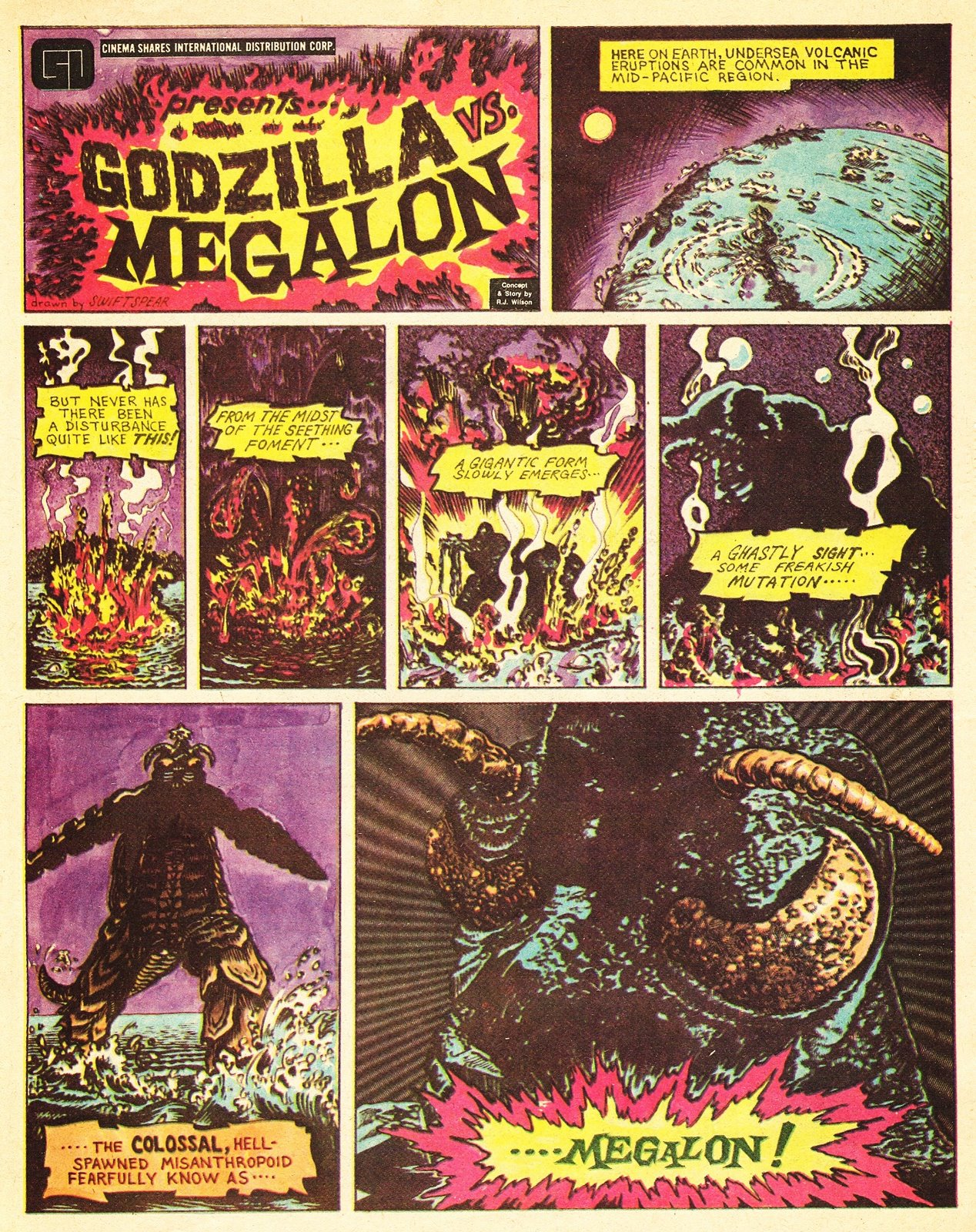 Godzilla vs. Megalon (Comic)