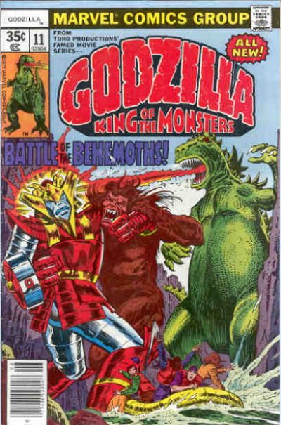 Godzilla, King of the Monsters (Marvel) Issue 11