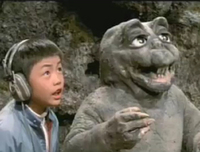 All Monsters Attack 1 - Minilla and the kid