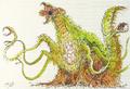 Concept Art - Godzilla vs. Biollante - Biollante 6