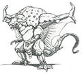 Concept Art - Mothra vs. Bagan - Bagan 5