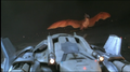 Fire Rodan flying after Garuda