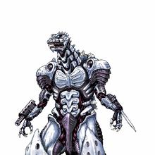 Concept Art - Godzilla Against MechaGodzilla - Kiryu 14.png