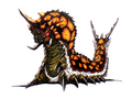 Concept Art - Godzilla vs. Mothra - Battra Larva 9