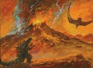 Godzilla vs. Demon Rodan (Godzilla in Hell)