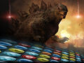 Godzilla Smash3 Background