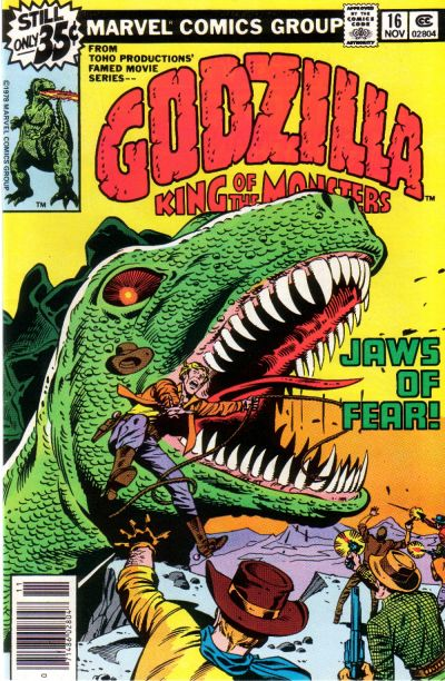 Godzilla, King of the Monsters (Marvel) Issue 16