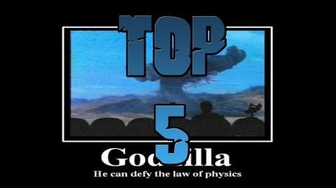 GojiFan93's Top 5 Funniest Moments in Godzilla