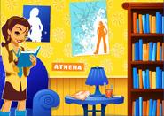 Athena's Bedroom.