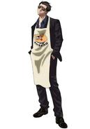 Tatsu anime design