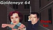 Goldeneye 64 cheats fun xD
