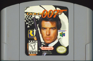 GoldenEye 007 Cartridge Front Cover
