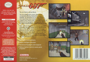 GoldenEye 007 Back Cover