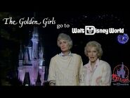 The Golden Girls go to Walt Disney World (1986) 15th Anniversary Celebration -Complete w commercial-