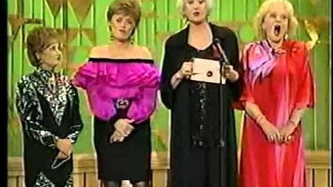 ★ The Golden Girls Present An Award At The Emmy Awards ★ 1991 ★