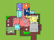 Golden Girls House Layout by Parade of Lunacy