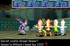 Demon Spear Psynergy series