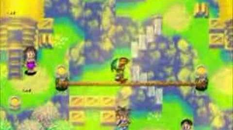 Golden Sun Link from Zelda cameo!
