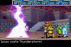 Thunderclap Psynergy series