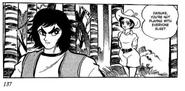 Hikaru Makiba and Duke Fleed Grendizer Manga