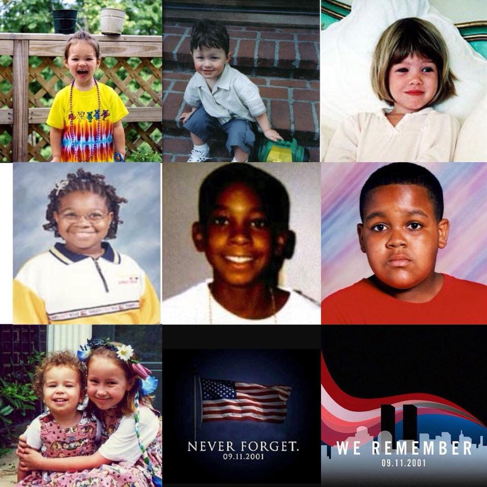 Children who lost their lives on September 11, 2001