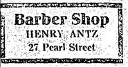Antz, Henry (Hartford barber)