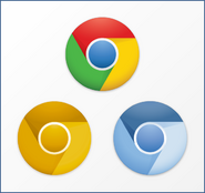 New google chrome icons by carlosjj-d3br23w