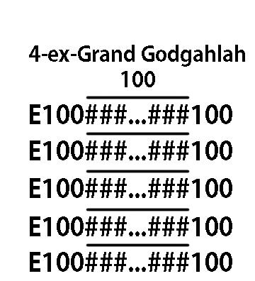 Grand grand grand grand godgahlah
