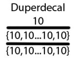 Duperdecal