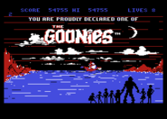 Goonies8bit end