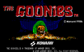 TheGooniesPC88 title