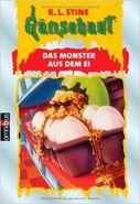 Egg Monsters from Mars - German Cover - Das Monster aus dem Ei