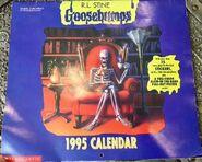 1995 wall calendar cover