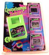 3-in-1 Horrific Portable Arcade Cartridge game in pkg