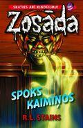 The Ghost Next Door - Latvian Cover