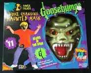 11 Voice Changing Haunted Mask in box front