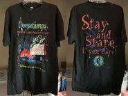 Horrorland Fright Show Disney 1997 T-shirt f+b