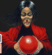 French depiction of Clarissa witch