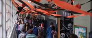 Daniel Webster Middle School Hallway