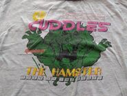 Cuddles Turn Up the Scare T-shirt detail
