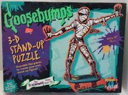 Khor-Ru Skateboarding 3D Stand-Up Puzzle box