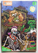Ghouls Rule haunted house 200 piece puzzle box
