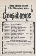 Goosebumps 1-11 booklist best-selling from OS 12